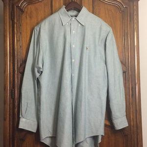 Ralph Lauren Polo Yarmouth 100% Cotton Shirt